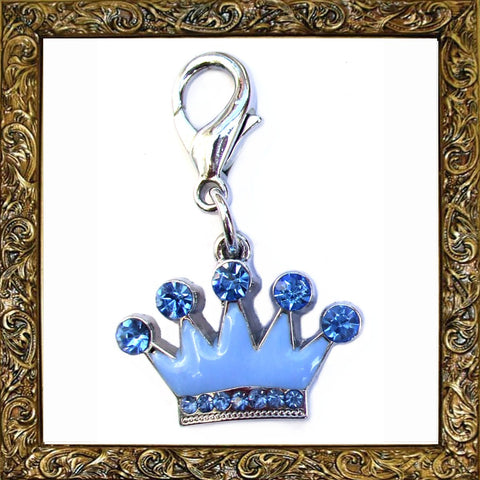 Prince Crown Pet Charm