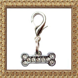 Small Bone Pet Dog Charm