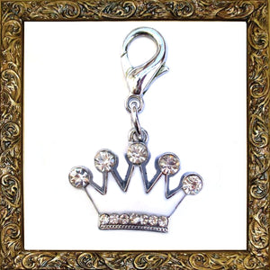 Charms Angel Crown Pet Charm - Prince & Princess Designer Petwear