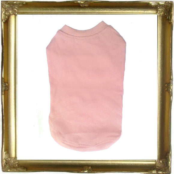 Cat Clothes Cat T-shirt - Light Pink - Prince & Princess Designer Petwear