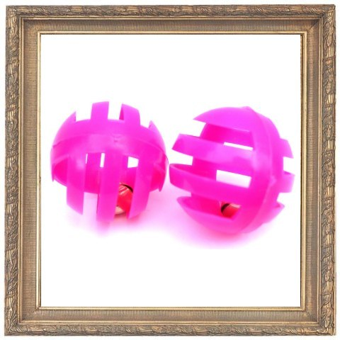 Cat Toys Slatted Lattice Ball Cat Toys x2 - Prince & Princess Designer Petwear