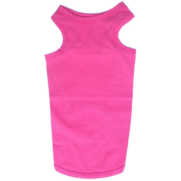 Cat Vest Top - Deep Pink - Clothes for Cats
