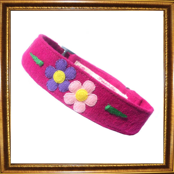 Dog Collars Flower Power Dog Collar by Prediletto - Prince & Princess Designer Petwear