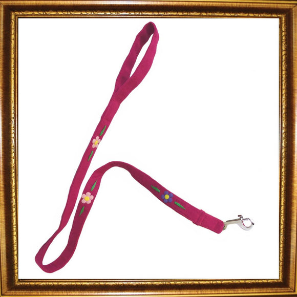Dog Leads Flower Power Dog Lead by Prediletto - Prince & Princess Designer Petwear