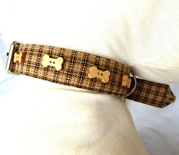 Dog Leads Tweed Dog Lead by Prediletto - Prince & Princess Designer Petwear