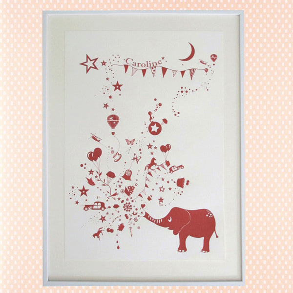 The Elephant Spray RED