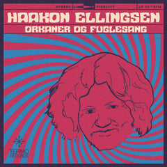 LP (colored, orange translucent): Haakon Ellingsen - Orkaner og fuglesang
