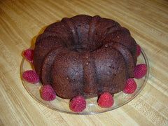Raspberry Liqueur Chocolate Chip Cake