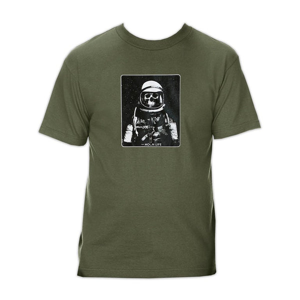 """Astro Zombie"" • T-shirt • Military Green"