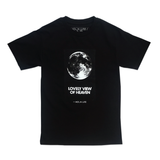 """Standing on the Moon"" • T-shirt • Black"