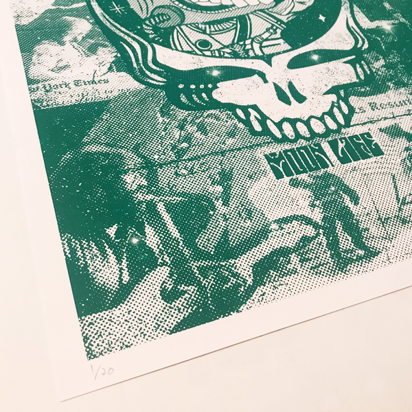 """Lunar '72"" 13""x19"" Screen Print (edition of 20)"