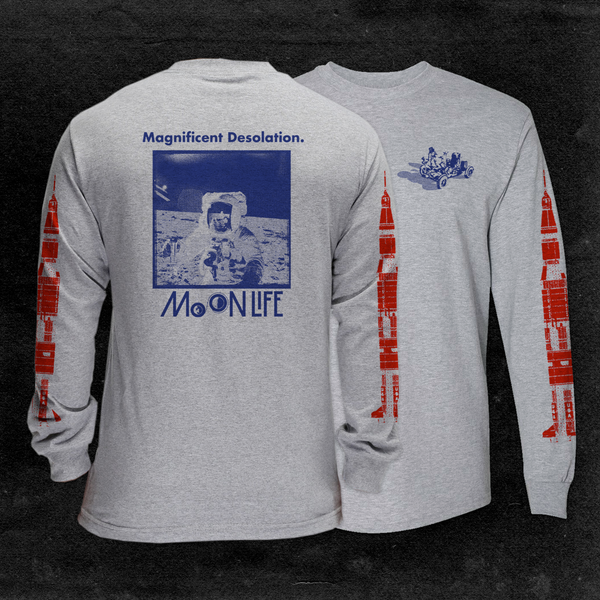"""Magnificent Desolation"" • Long Sleeve • Athletic Grey"