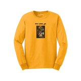"""Glimpses of Nirvana"" • Long Sleeve • Gold"