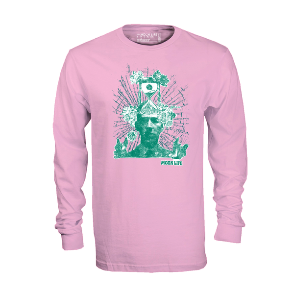 """Mind Flowers"" • Long Sleeve • Pink"