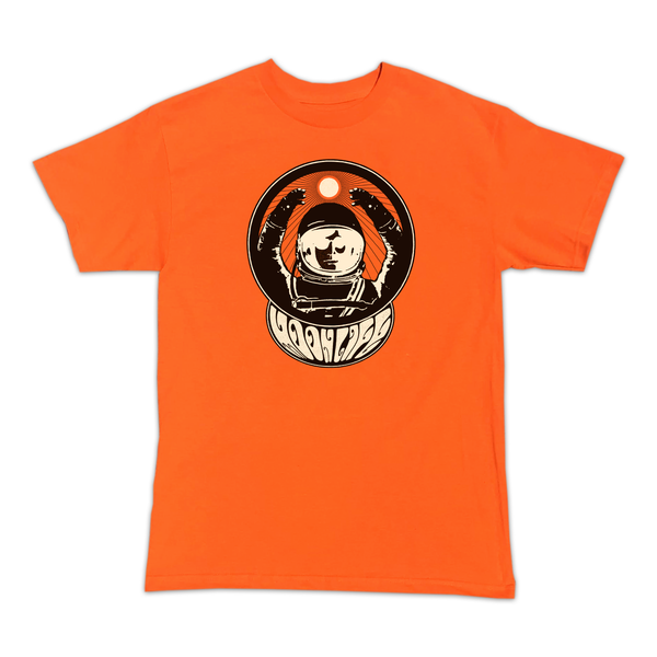 """Moon Man"" • T-shirt • Orange"