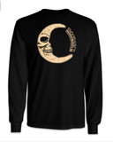 """Dead Moon"" • Long Sleeve • Black"