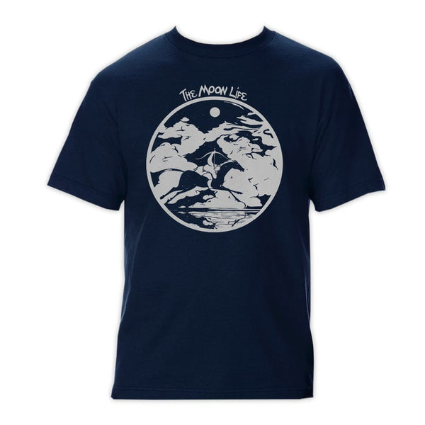 """Lunatics Lament"" • T-shirt • Midnight Navy"