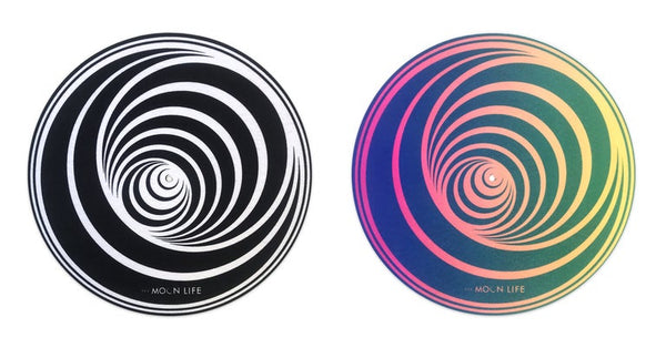 """Lunar Vertigo"" • Turntable Slipmat"
