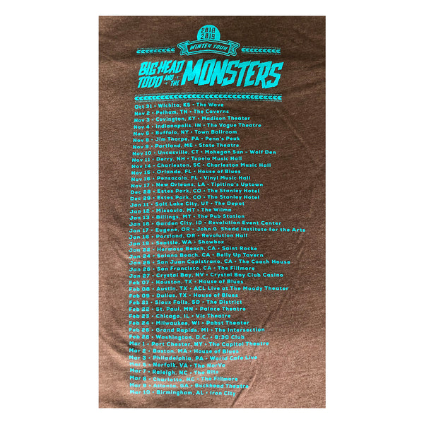 2018 Winter Tour Tee