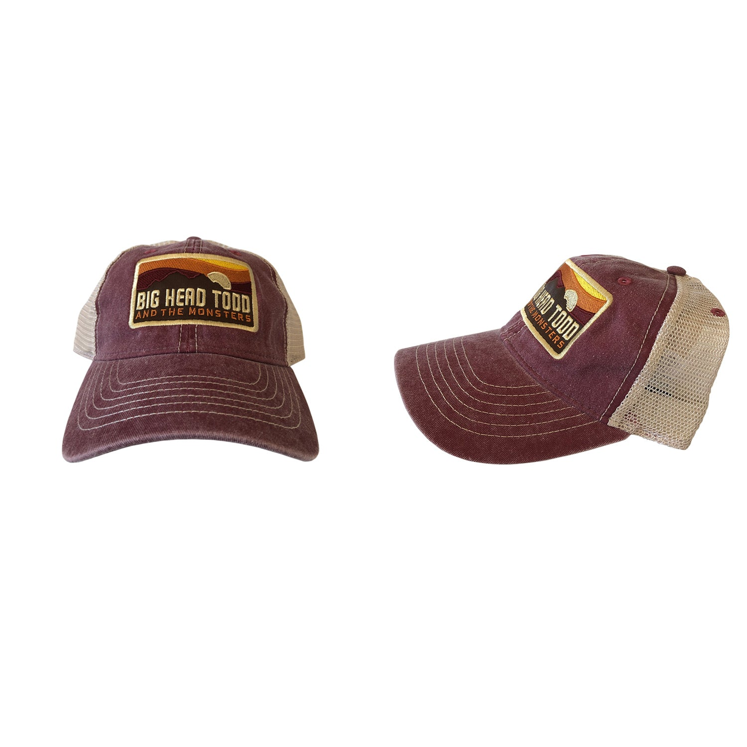 Sunset Mesh Cap - 2 Color Options