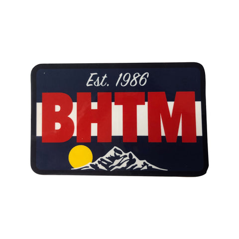 BHTM Mountain Sticker