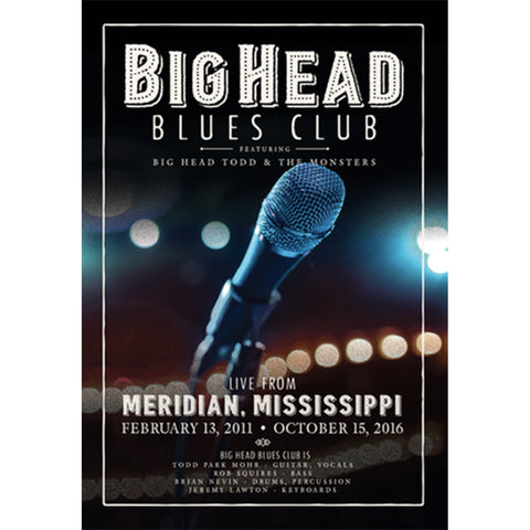 Big Head Blues Club DVD + CD Combo Pack
