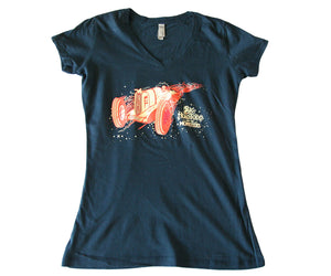 Ladies Wipeout Turn Tee