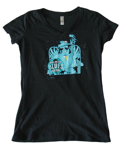 Ladies Big Head Blues Club Tour Tee