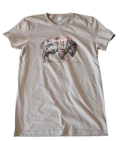 Ladies Big Head Buffalo Tee