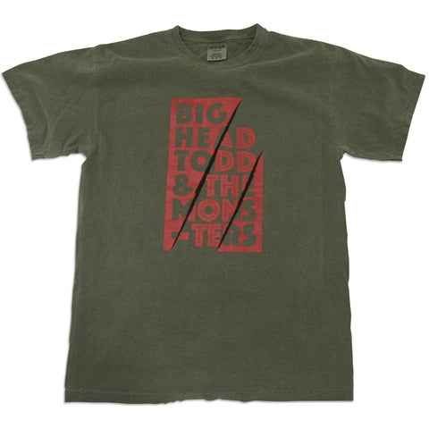 Mens Big Head Todd Sage Tee
