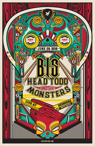 Red Rocks 2018 Show Poster