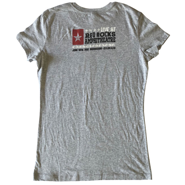 Ladies Red Rocks Show 2017 Tee