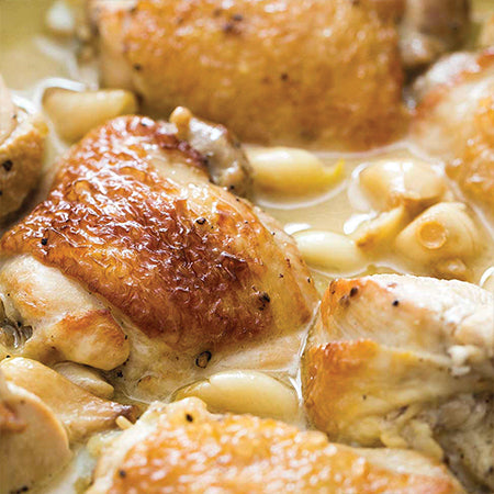 Chicken and Garlic Bake