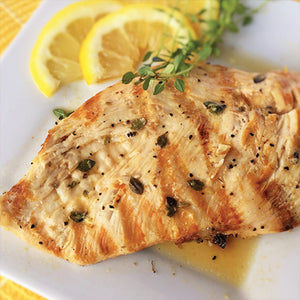 Grilled Chicken with Lemon & Thyme