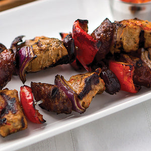 Pork Chop Skewers Recipe