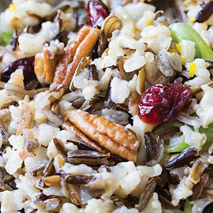 Wild Rice Salad with Dressing