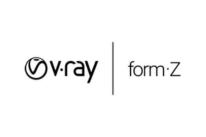 form•Z jr w/V-Ray Bundle Annual License