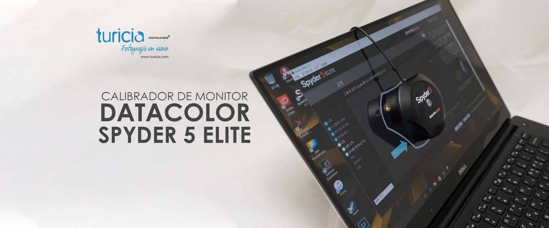 Calibrador de monitor Datacolor Spyder 5 Elite