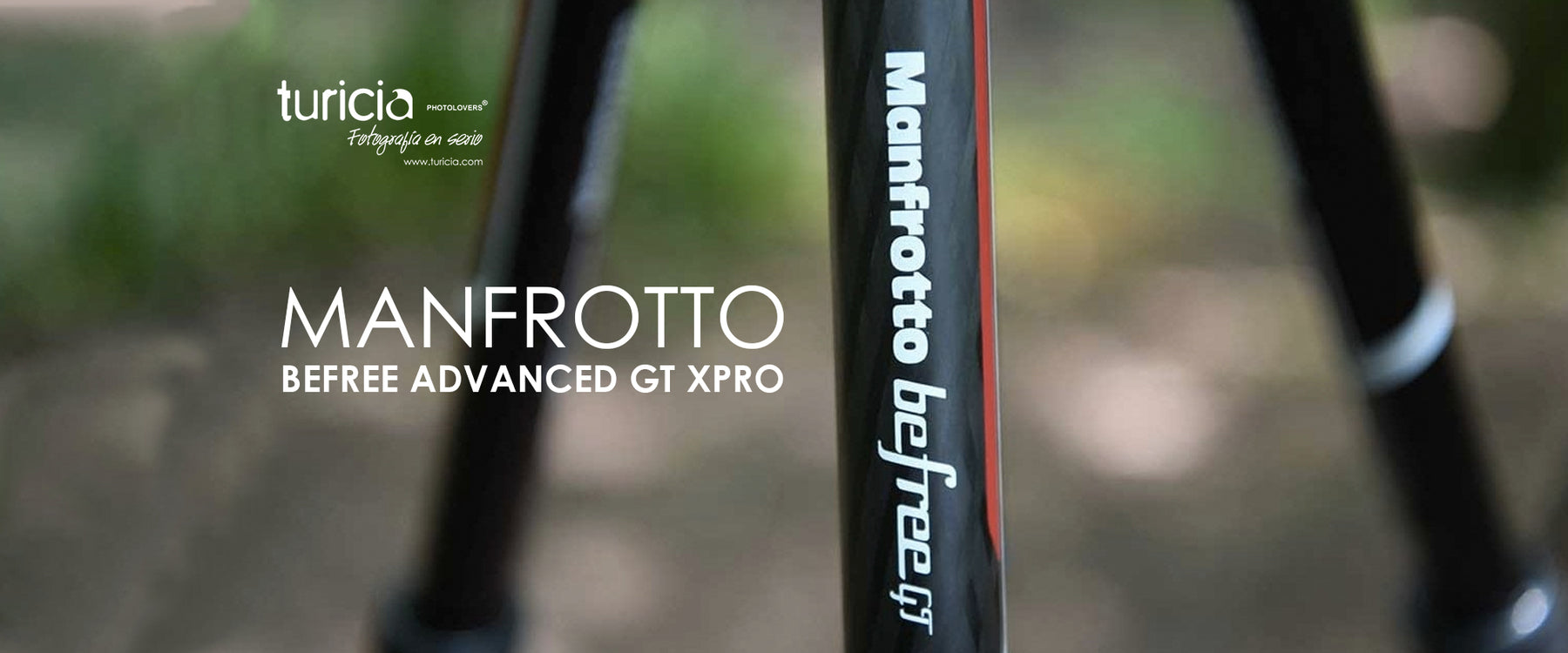 Nuevo tripie Manfrotto Befree Advanced GT XPRO