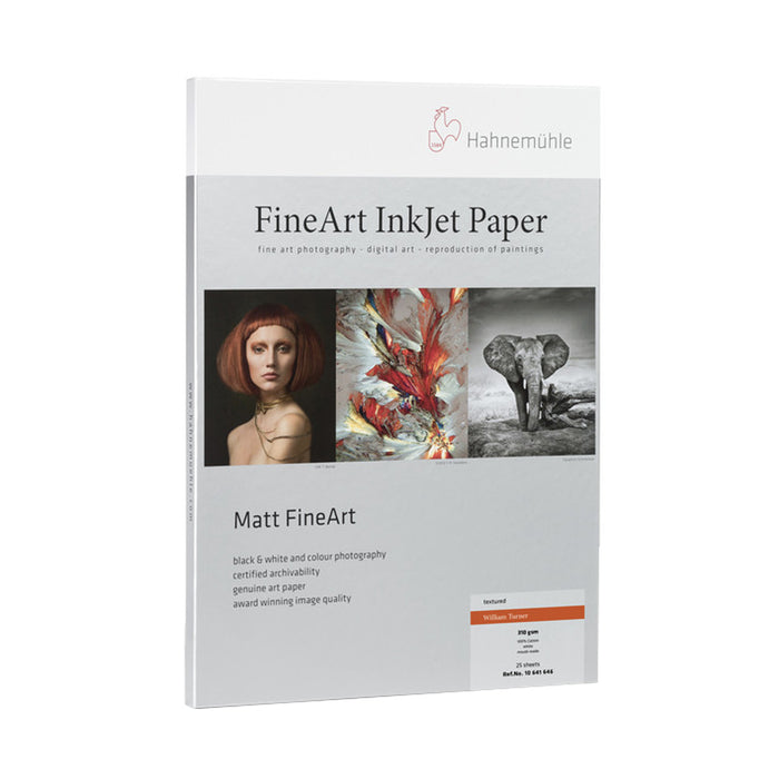 Papel Hahnemühle William Turner 310gr paquete 25 hojas
