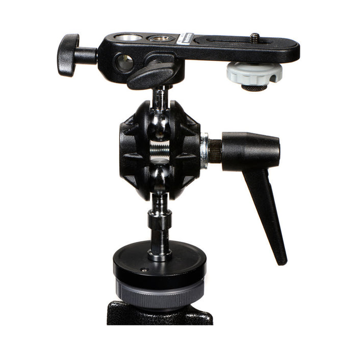 Cabeza doble Movible Manfrotto 155 para sombrilla y cámara