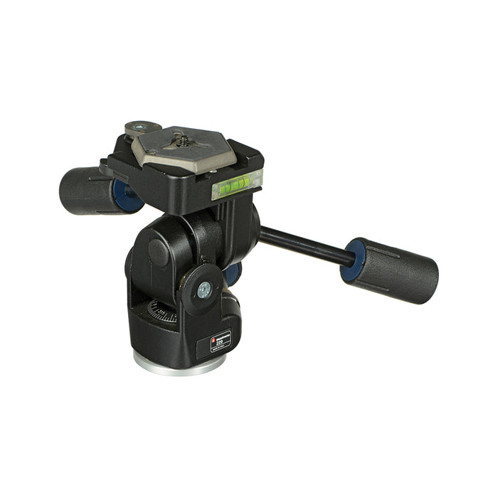 Cabeza super Pro Manfrotto 229 de 3 movimientos para 12kg