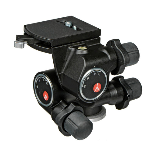 Cabeza Manfrotto Junior 410 con Movimiento Micrométricos con Nivel para 5kg