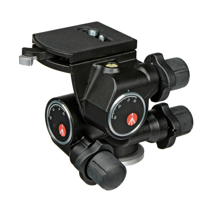 Cabeza Manfrotto 410 Junior con movimiento micrométricos con nivel para 5kg