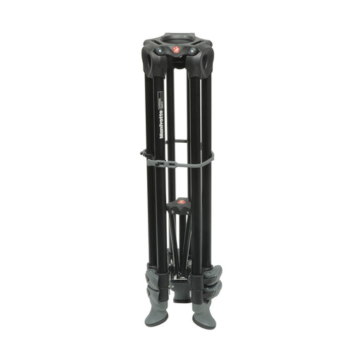 Tripie Manfrotto MVT502AM para video 3 secciones con patas gemelas