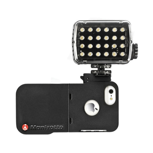 Estuche Manfrotto MKLKLYP5 Klyp para iPhone con  Conectores y Led ML240