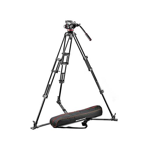 Kit de Vídeo Manfrotto MVH502A,546GB-1 para 4kg