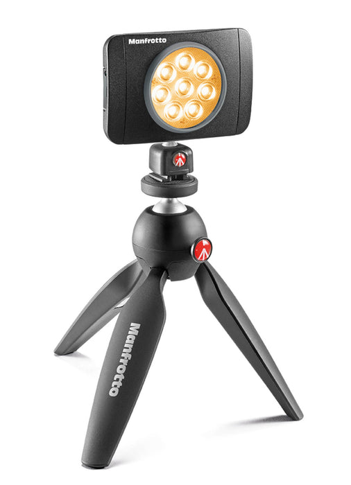 Lámpara Manfrotto MLUMIEMU-BK Serie Lumie de 8 Led's
