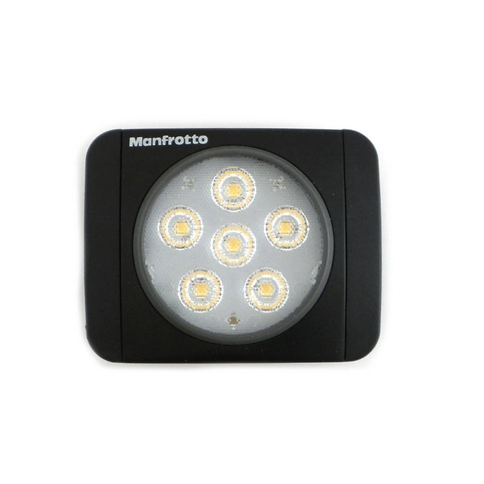 Lámpara Led Manfrotto MLUMIEART-BK Serie Lumie de 6 Led's Negra