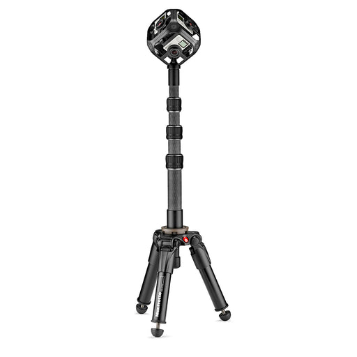 Base de aluminio Manfrotto MBASEPROVR con semi-esfera para realidad virtual
